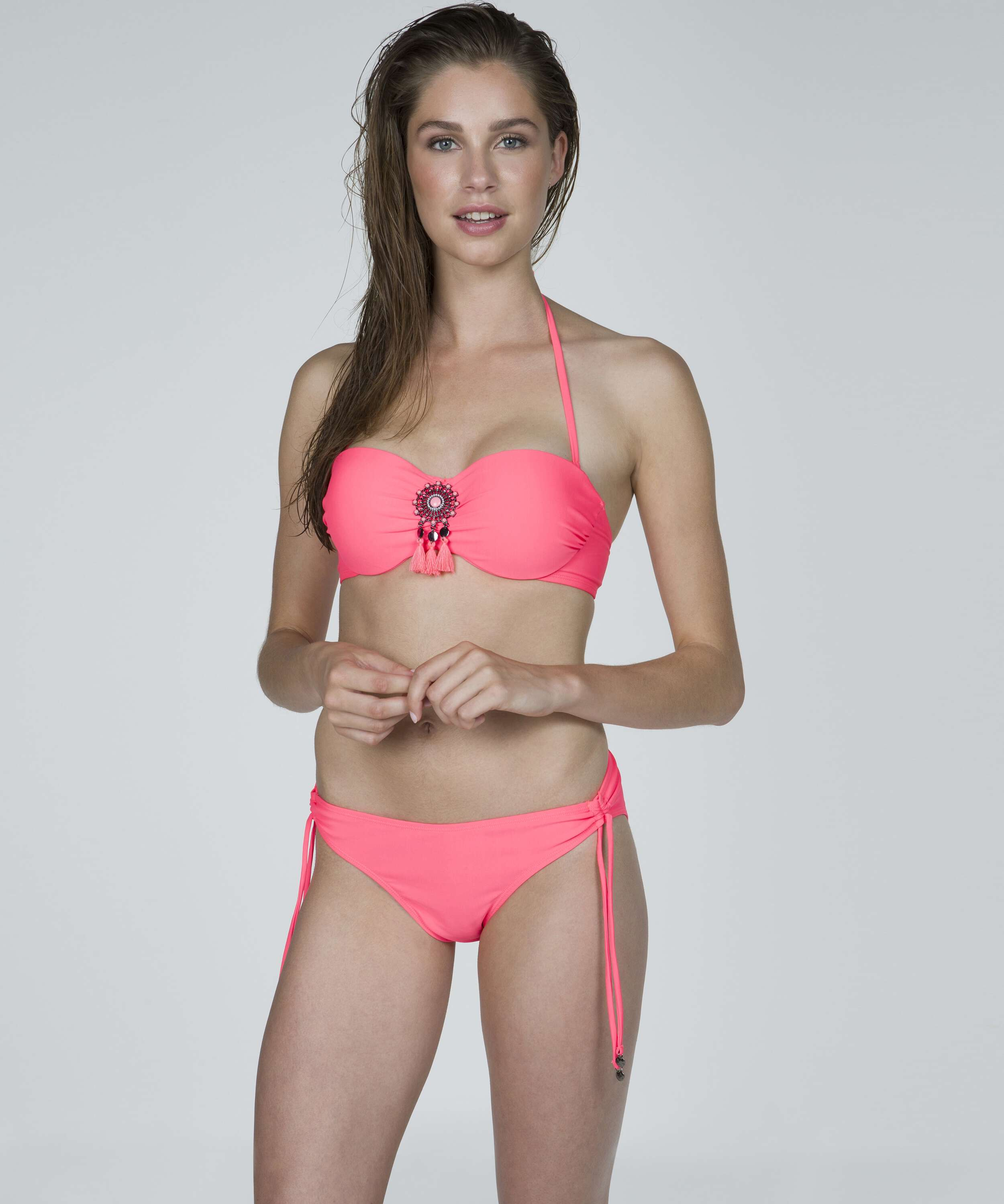 Low bikini bottoms Arabian nights, Pink, main