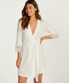 Vera Lace Kimono, White