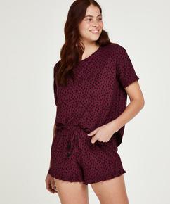 Short Pyjama Set, Red