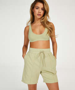 Snuggle Me Bermuda Shorts, Green