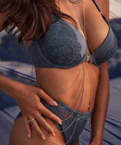 Body Jewelry Rebecca Mir, Grey