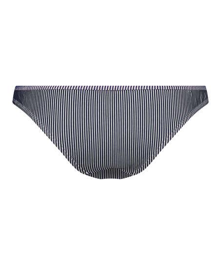 Ruffle Stripe bikini bottoms, Blue