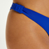 Luxe high-cut bikini bottoms, Blue