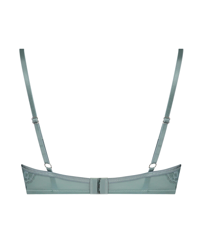 Sierra padded underwired bra, Green, main