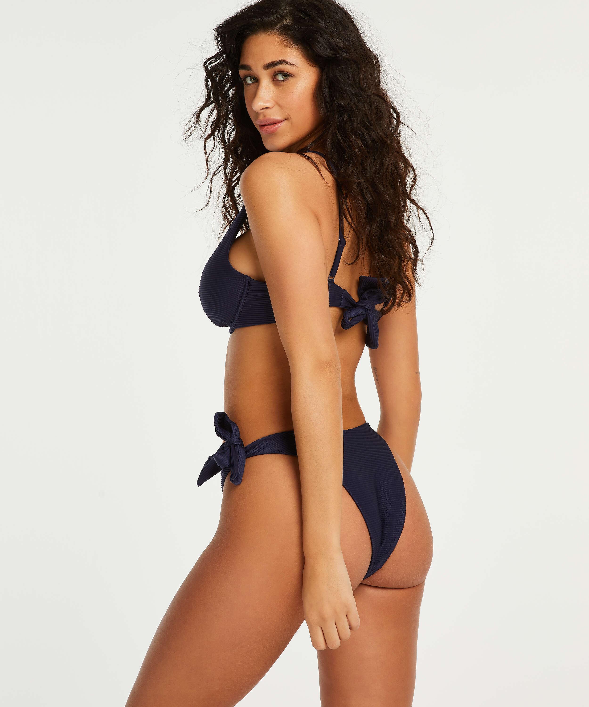 High-cut bikini bottoms Harper, Blue, main