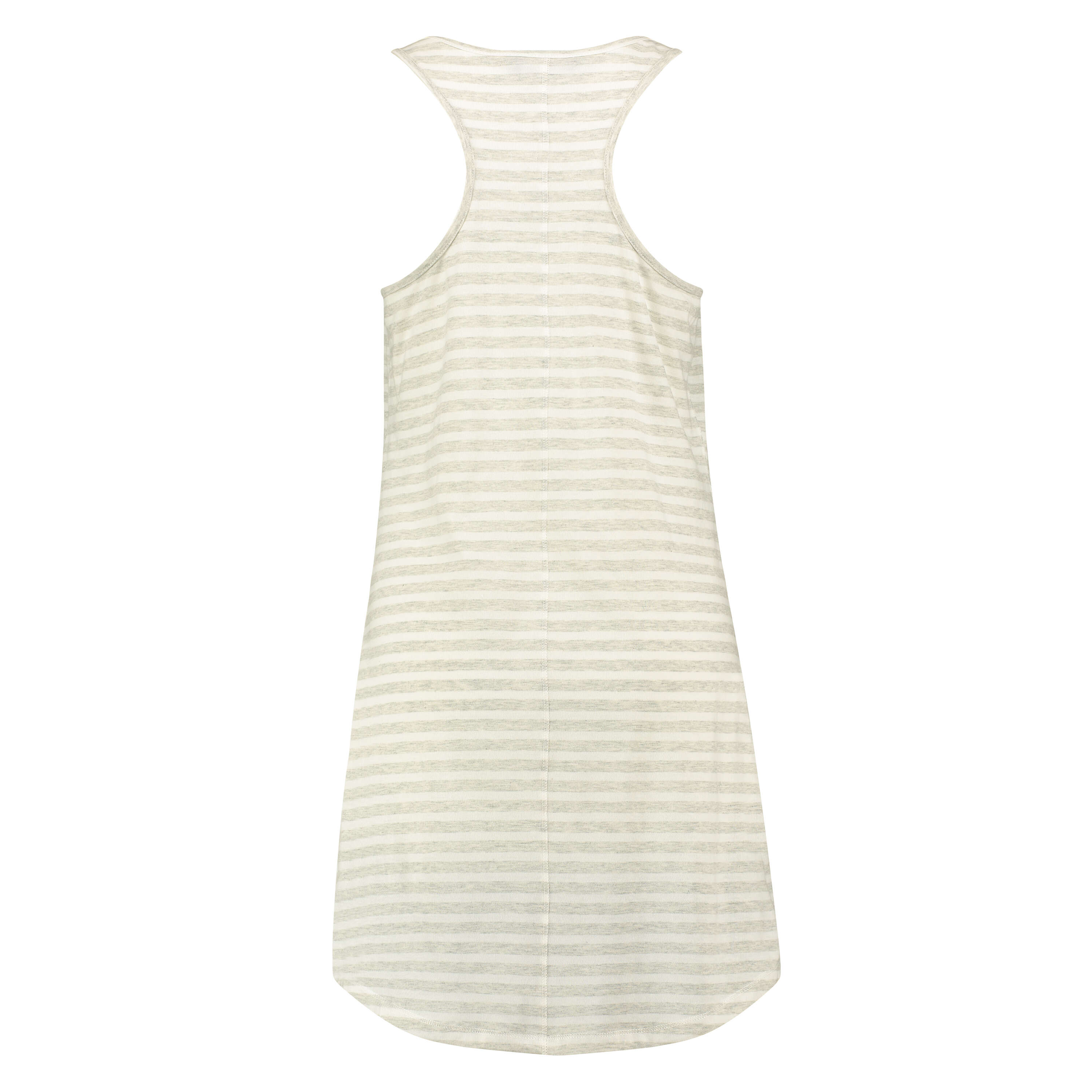 Nightshirt Stripe sleeveless, Grey, main