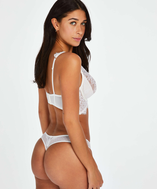 Marilee Non-Padded Underwired Bra, White, main