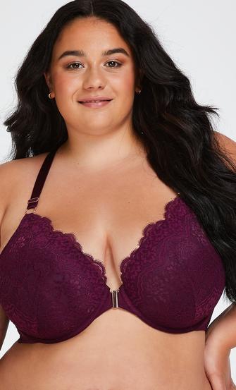 Melissa Padded Underwired Bra, Purple