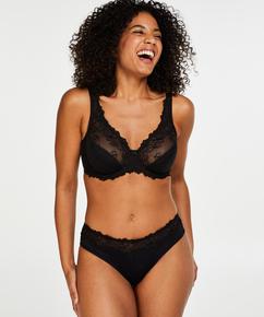 Diva Non-Padded Underwired Bra, Black