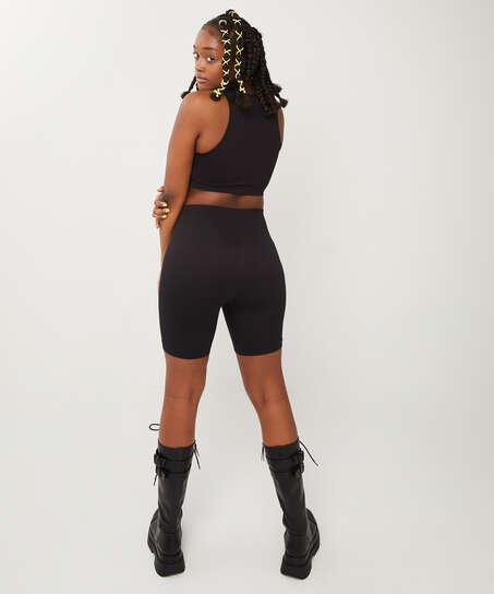Bae Crop Top, Black