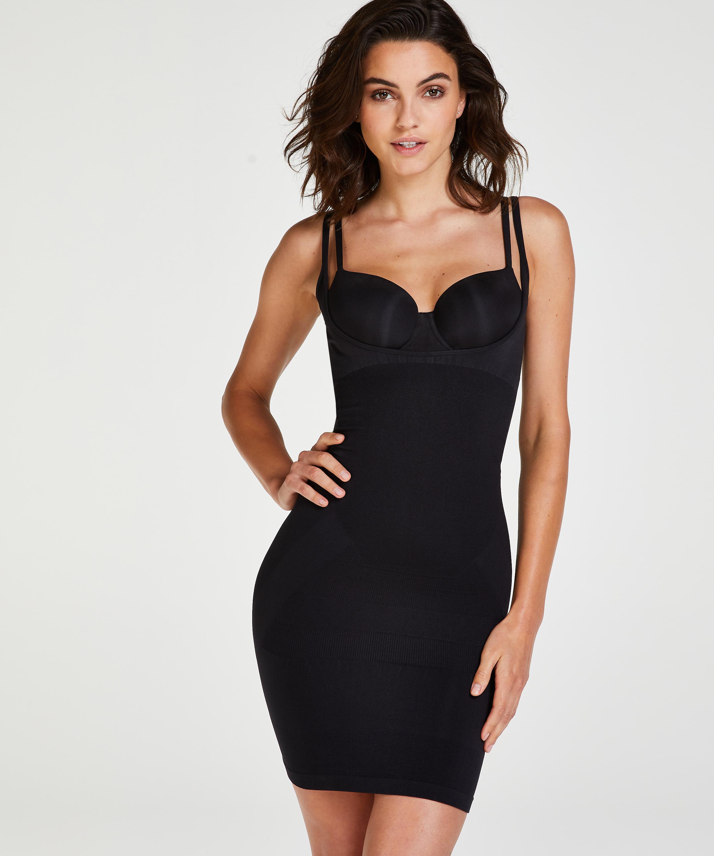 Firming dress - Level 2, Black, main