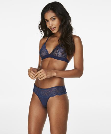 Rosie Thong Shorts, Blue