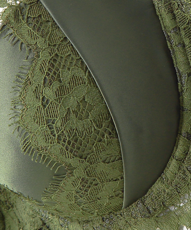 Hannako padded underwired bra, Green, main