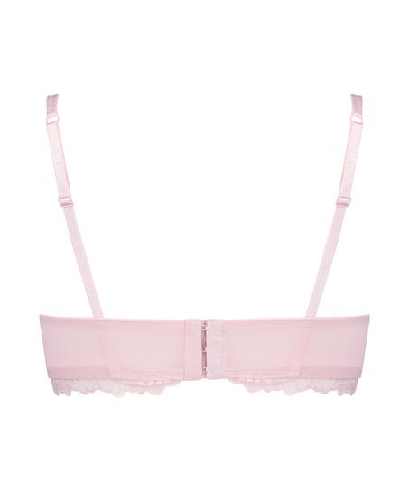 Yvonne padded non-underwired bra, Pink