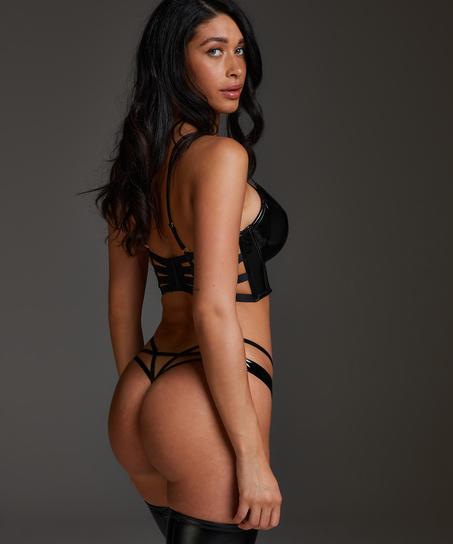 Seductress Thong, Black
