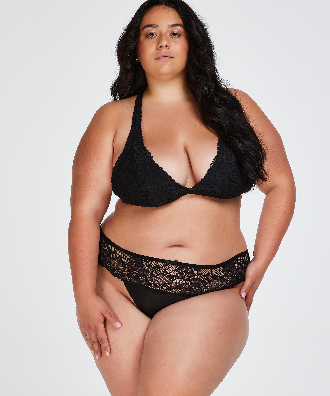 Bianca Boxer Thong, Black, main