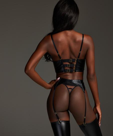 Talia Suspenders, Black
