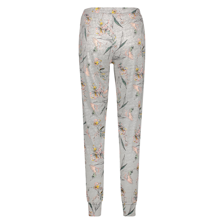 Jersey Pyjama Pants, Grey, main