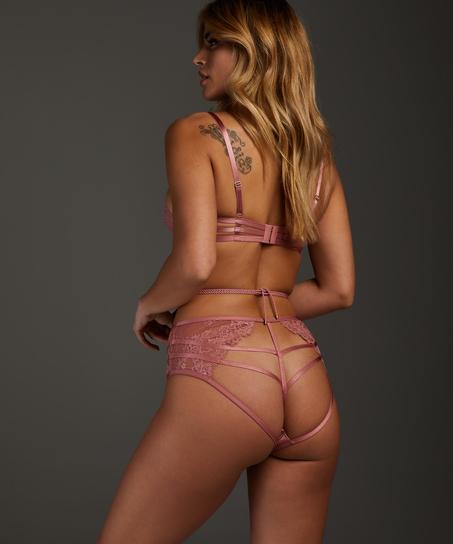 Alabama non-padded underwired bra, Pink