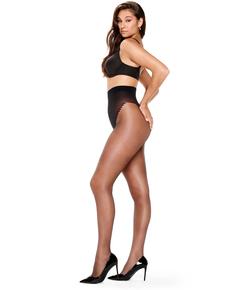 30 Denier corrective tights, Black