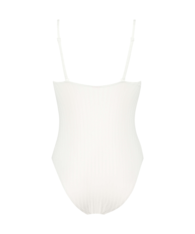Emily swimsuit, White, main