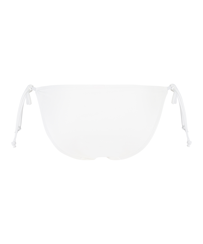 Maldives Brazilian tanga bikini bottoms, White, main