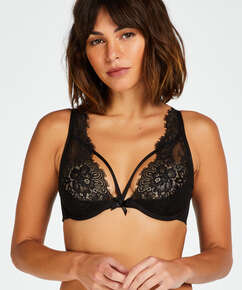 Latisha Non-Padded Underwired Bra, Black