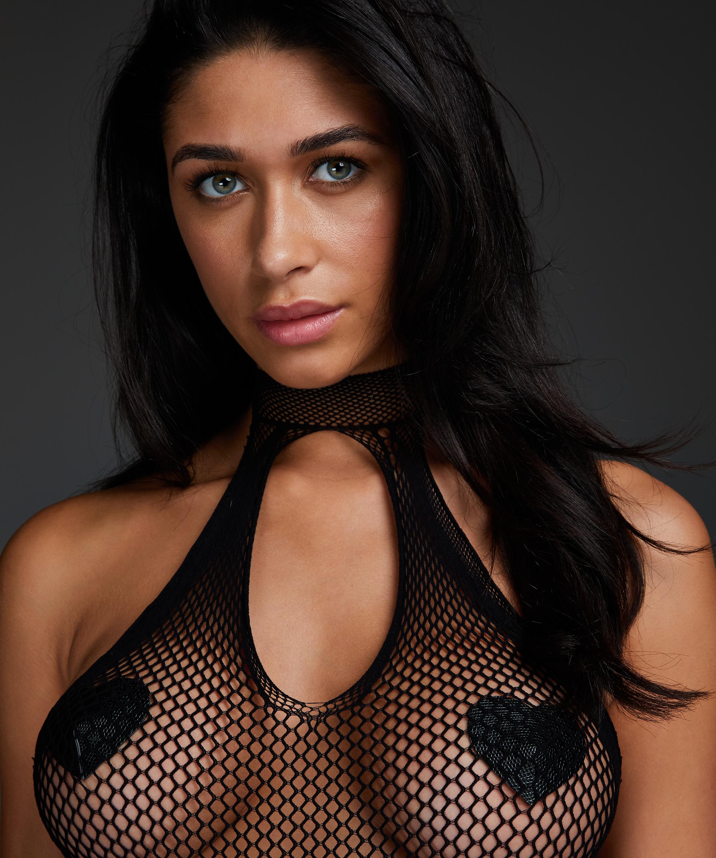 Private Bodysuit, Black, main
