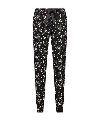 Jersey pyjama bottoms, Black