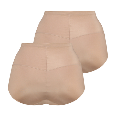 2-Pack Smoothing shaping brief - Level 1, Beige
