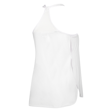 HKMX loose fit tank top, White