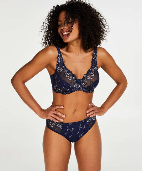 Diva knickers, Blue