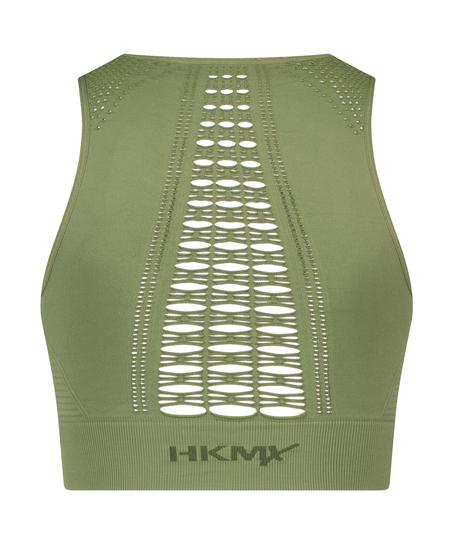 HKMX Sport Bra Karma Seamless Level 2, Green