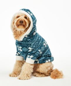Dog's Fleece Onesie, Blue