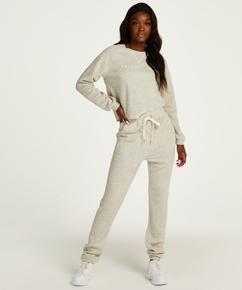 Brushed Back Sweat Tall Pyjama Pants, Grey