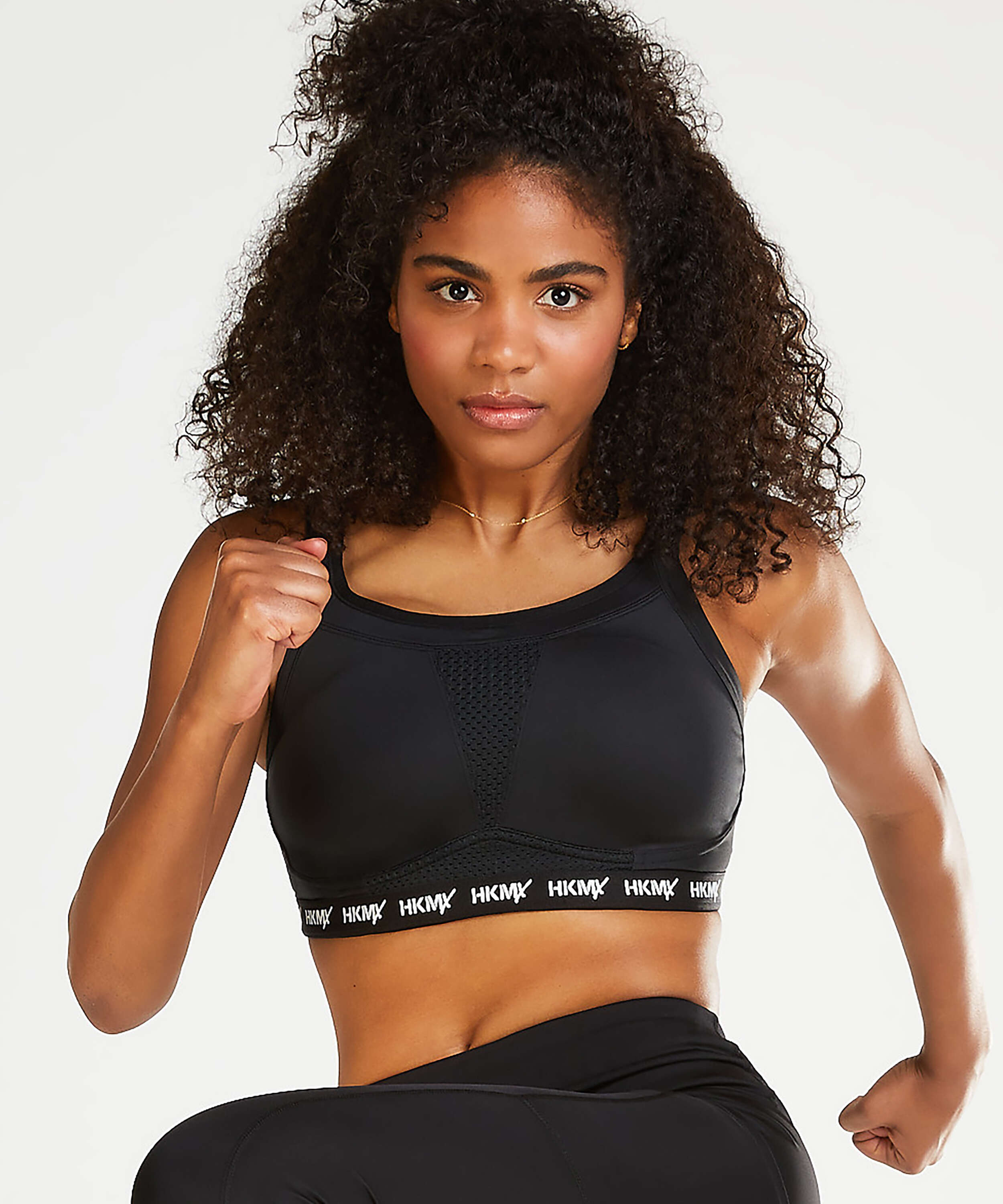 HKMX Sports bra The Elite Level 3, Black, main