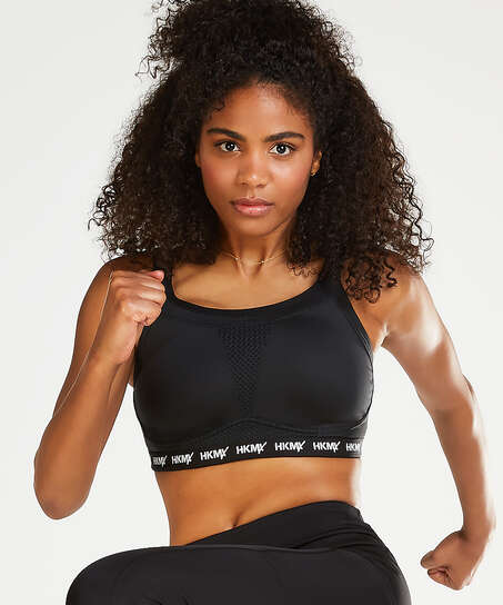 HKMX Sports bra The Elite Level 3, Black