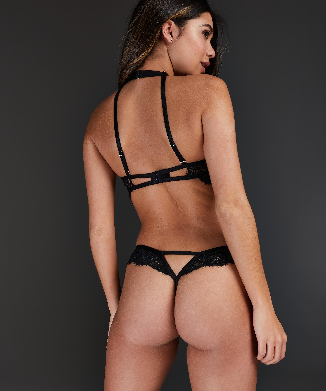 Cassidy Private Body Stocking, Black, main
