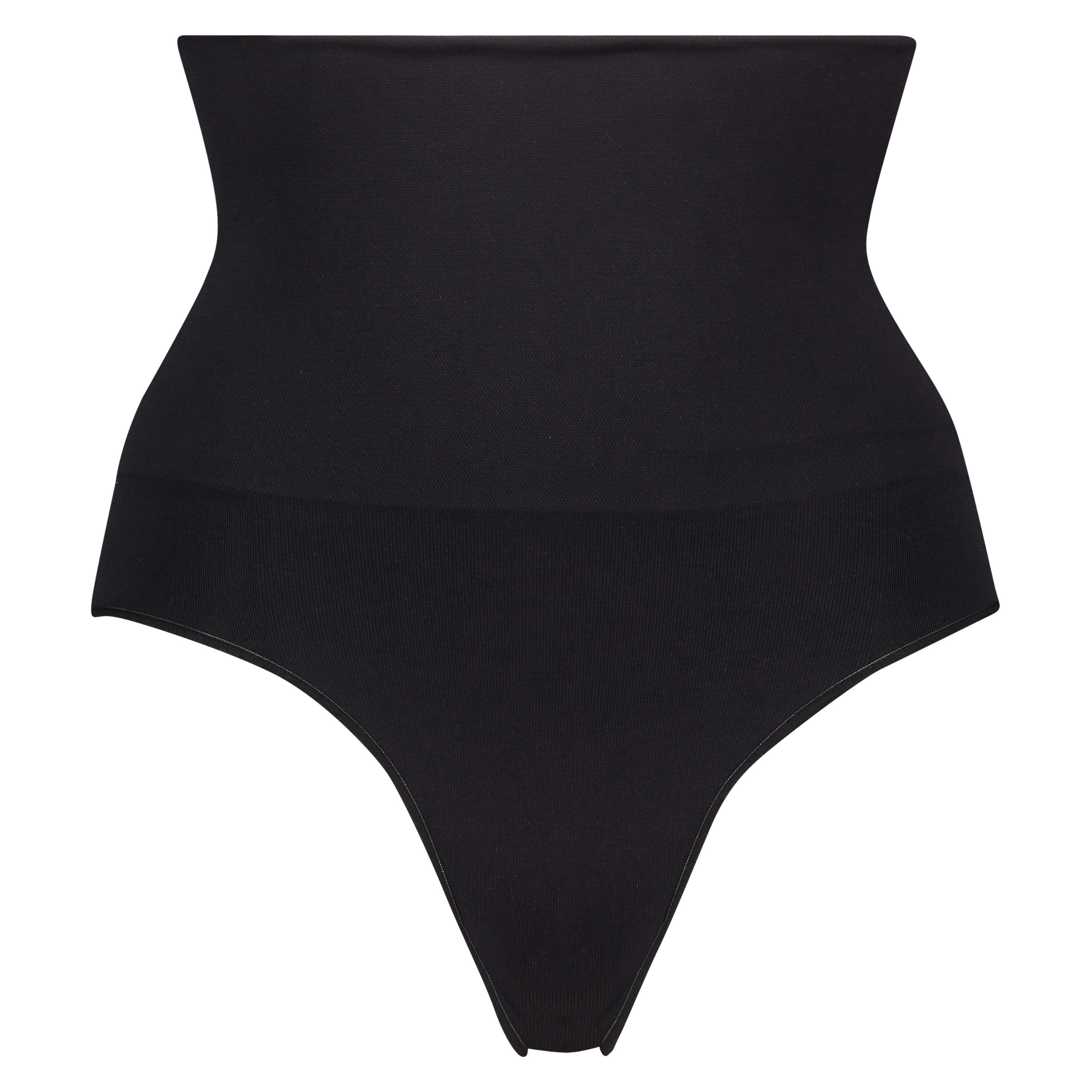 Firming high knickers - Level 2, Black, main
