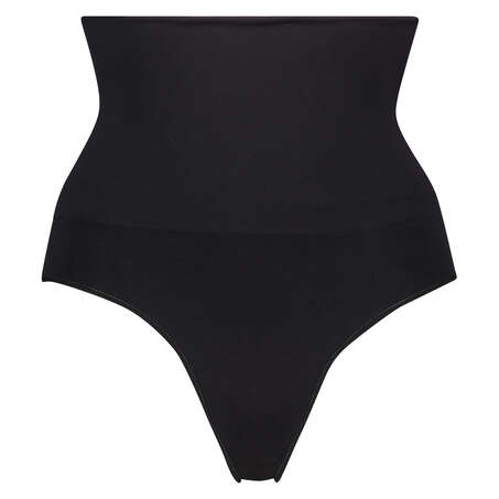 Firming high knickers - Level 2, Black