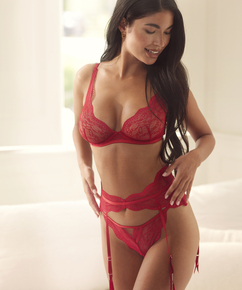 Isabelle Suspenders, Red