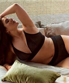 Meryem High Leg Brazilian I AM Danielle, Black