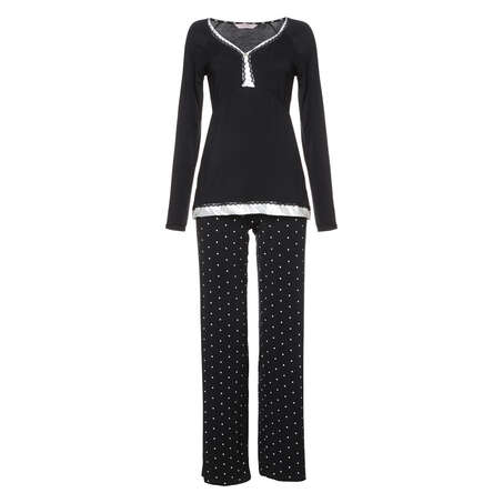 Pyjama set Pam, Black