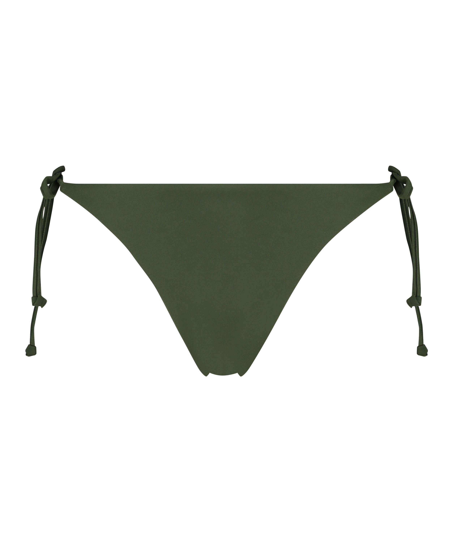 Luxe string bikini shorts, Green, main