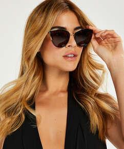 Cat Eye sunglasses, Brown