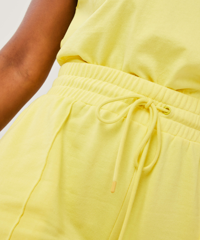 Snuggle Me Bermuda Shorts, Yellow, main