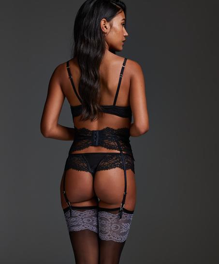 Amelia Suspenders, Black