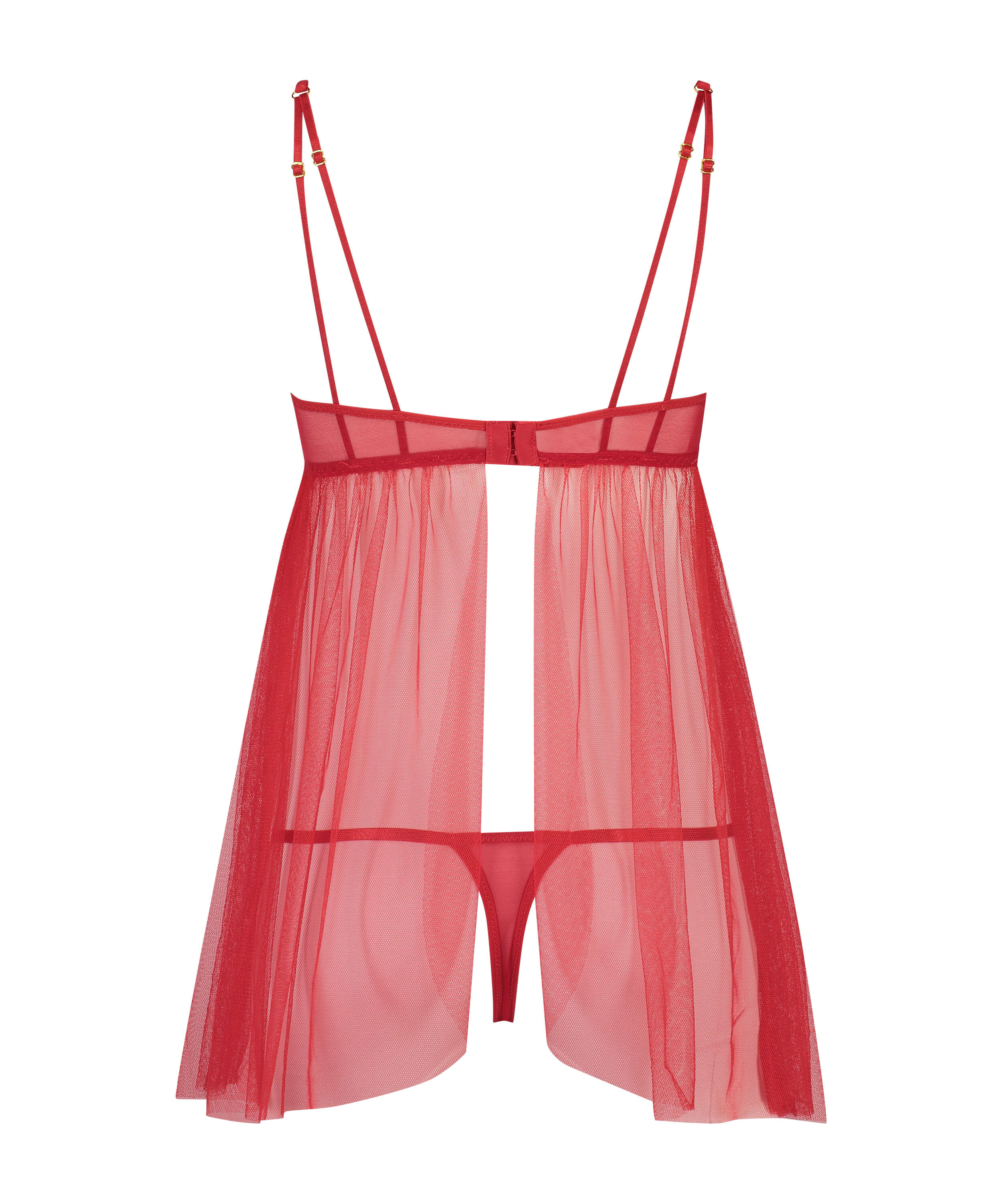 Emily Babydoll, Red, main