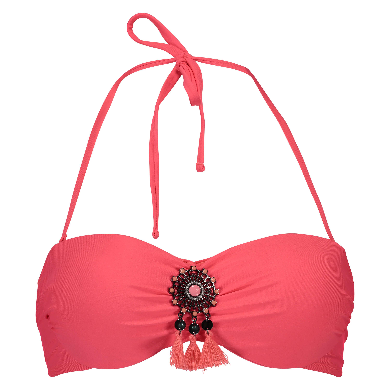 Push-up bikini top Arabian nights, Pink, main