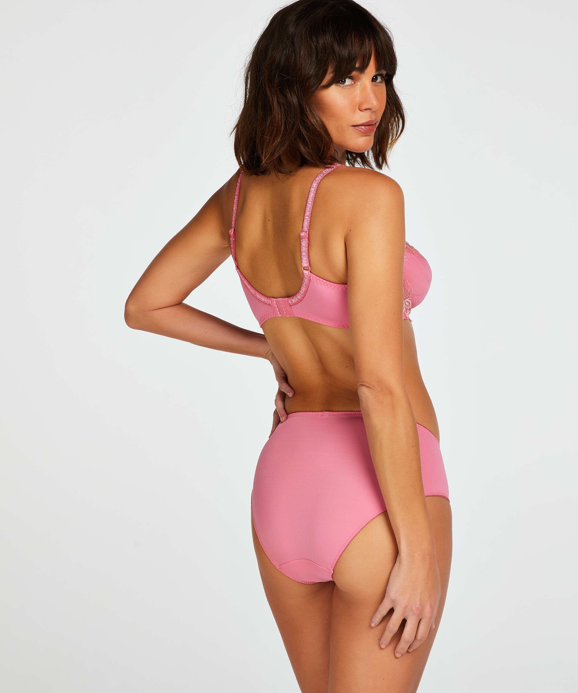 Diva Non-Padded Underwired Bra, Pink, main